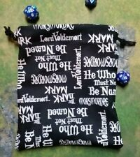 Harry Potter Names and Words dice bag