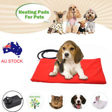 12V Pet Electric Heat Heated Heating Heater Pad Mat Blanket Bed Dog Cat AU Plug