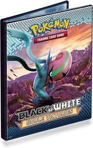 Noble Victories A5 4 pocket portfolio binder. Pokemon Black & White