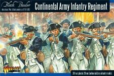 WARLORD GAMES 28MM: CONT INFANTRY REGIMENT 1776-1783 (30) (PLASTIC) AWI04