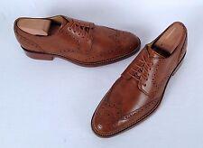 Cole Haan Wingtip Oxford British Tan Size 8 M   (CH2)
