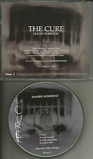 THE CURE Maybe Someday w/ RARE EDIT & AUDIO BIO PROMO DJ CD single 2000 USA