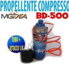 bomboletta aria propellente compresso per aerografia tubo con attacco 1/8 z
