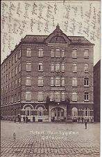 Sweden Goteborg Göteborg - Hotel Hembygden 1912 cover mailed postcard