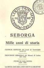 SEBORGA MILLE ANNI STORIA PRINCIPATO 1984