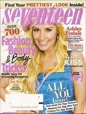 Ashley Tisdale Seventeen Magazine Nov 2008 High School Musical 3 Perfect Kiss