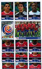 Panini 2011 Copa America Argentina Extra Costa Rica Team soccer Sticker Update