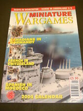 MINIATURE WARGAMES - SPANISH IN MOROCCO - JAN 2004 # 248
