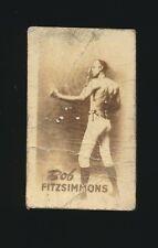 1948 Topps Magic (Boxing Champions) -#4 BOB FITZSIMMONS