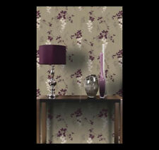 Arthouse Vintage Fuchsia Wallpaper - Plum Set of 2 rolls for feature/accent wall