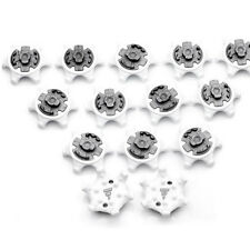 14x Spare Rubber Fast Twist Studs Octagonal Studs Golf Shoes Spikes Pins Footjoy