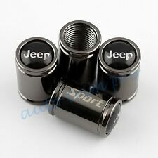 Titanium Style Auto Air Dust Wheel Screw Tire Tyre Valve Cap Cover For Jeep Part