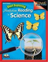 Start Exploring Nonfiction Reading in Science : PreK-Grade 1 by Shell Education