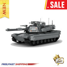 MOC-38891 Ultimate M1A2 Abrams Tank Building Blocks 1979 PCS Good Quality Bricks