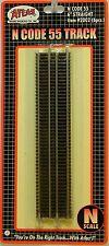 "Atlas N Scale Code 55 6"" Straight Track"