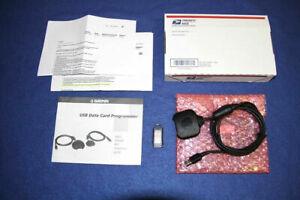 Garmin usb data card programmer cable 128mb Bundle programming GPS Mapsource 128