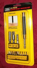 Tool Shop 14-Piece Screw Guide Driving Set- NEW