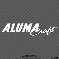 AlumaCraft Boats Outdoors/Boating/Fishing Vinyl Decal Sticker -Choose Color/Size