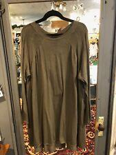 Rundholz vert lightweight cotton sweater tunic size M ( L-XL)