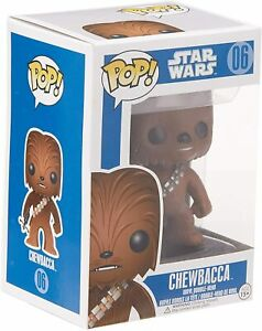 Chewbacca Pop! Vinyl Figure Star Wars FUNKO BRAND NEW ABUGames