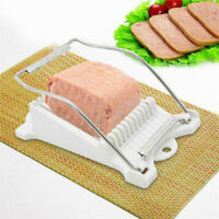 BG_ Boiled Fruit Slicer Luncheon Meat Cheese Wire Kitchen Egg Soft Food Cutting
