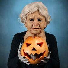 Silikon Kopfbedeckung Maske Maskerade Falten Gesichtsmaske Cosplay Halloween