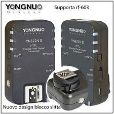 YongNuo YN-622N II i-TTL LCD wireless flash controller  Nikon D7000  D7100 D7200