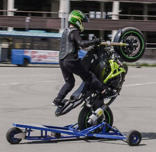 MOTORCYCLE WHEELIE TRAINER, SPYDER, WHEELIE MACHINE WHEELIE CAGE. PLANS TO BUILD