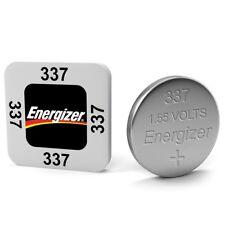 2 x Energizer 337 SR416SW BATTERY 1.5V SILVER BATTERIES D337 V337 SR416