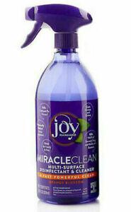 Joy Mangano MIRACLE CLEAN DISINFECTANT & CLEANER Orange Blossom 28oz/828ml