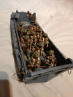 King and Country US landing craft PA26-21 with 11 K&C soldiers. 1:30 scale.