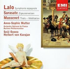 Anne-Sophie Mutter - Lalo Sarasate Massenet EMI Classics CD Ozawa Karajan