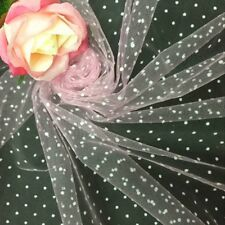 1 yard x 150CM width bridal polka dot veiling wedding fascinator dress lace diy