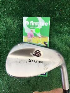 Scratch Golf JAPAN Forged LW 60* Lob Wedge With Rifle 6.5 Stiff Steel Shaft