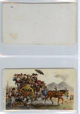 Italie, Naples Le Galesto  CDV vintage albumen carte de visite,  Tirage albumi