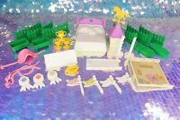 Vintage My Little Pony SHOW STABLE Playset Parts Doors Brush Jumps G1 MLP L076