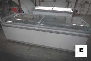 AHT Paris 2.5m Commercial Chest Freezer (Sliding Glass) - CALL 07800 733 055