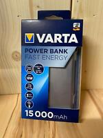 VARTA -  Fast Energy 15000 Powerbank - LiPo 15000 mAh - NEU & OVP