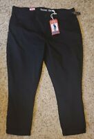 NWT Levi Strauss, High Rise Ankle Skinny Women's Jeans Size 20, Black