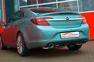 FMS 76mm Duplex Sportauspuff Opel Insignia Sth & Flh Allrad ab Bj 2010 2.0l
