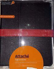 Cygnett Attache Folio Case For iPad Multi-purpose Black with Red Stripe