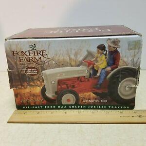 ERTL- Foxfire Farm Ford NAA Golden Jubilee Tractor, 1:16 Scale, Die Cast,