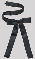 NEW Black Colonel Sanders Western Kentucky Cowboy String Bow tie Square Rodeo