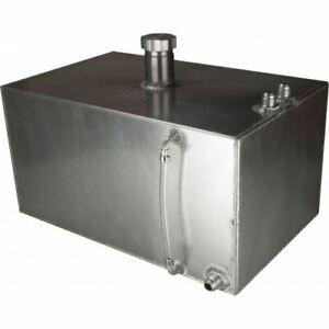 OBP 6 Galloni Quadrato Alluminio Jic Serbatoio Carburante (OBPFTJIC005)