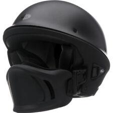 Bell Rogue Flat Matte Black Street Bobber Chopper Motorcycle Half Helmet XL DOT