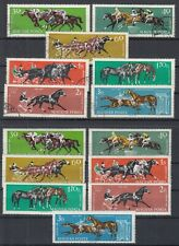 Hungary 1961 ☀ Sport Horse Races Mi.1776/1782 ☀ 7v MNH + 7v used