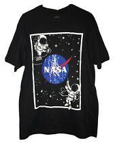 NWOT Men Eighty eight 88 astronaut Nada Black T-Shirt Tee Size Large LG
