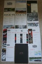Jaguar E-type XKE XKE-R XKE-GT New Forest Cars 2017 Customer Brochure Pack