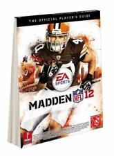 NEW SEALED MADDEN NFL 12 2012 MULTI-PLATFORM PRIMA STRATEGY GUIDE MINT CONDITION