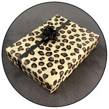 Geschenkpapier - Leo Leopardenfellmuster Leopardenmuster Leopardenfell Optik